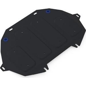 Защита картера ч.2 Rival для Genesis G80 4WD (2017-н.в.) / G90 (2016-н.в.) Hyundai II (2014-2017), сталь 2 мм, с крепежом, 111.2354.1