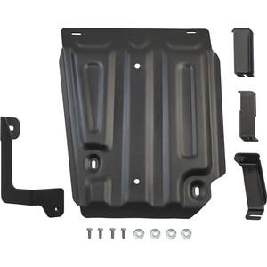 Защита топливного бака Rival для Nissan Terrano III 4WD (2014-н.в.) / Renault Duster I 4WD (2011-н.в.) / Kaptur 4WD (2016-н.в.), сталь 2 мм, 111.4718.1 адаптер рулевого управления re la r renault logan duster sandero kaptur lada vesta xray nissan terrano обучаемый