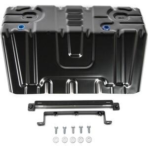 Защита радиатора Rival для Lexus GX 460 II (2009-2013 / 2013-н.в.) / Toyota LC Prado 150 (2009-2017 / 2017-н.в.), сталь 2 мм, с крепежом, 111.9516.1