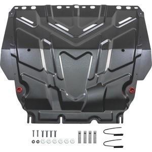 Защита картера и КПП АвтоБРОНЯ для Ford Focus (2005-н.в.), Grand C-Max (2010-2015), Kuga (2008-2013), C-Max (2003-2010), сталь 2 мм, 111.01850.1