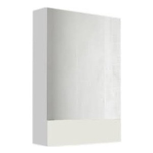 Зеркальный шкаф 1Marka Соната 60 белый (4604613302214)