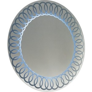 цена Зеркало 1Marka Marka One Belle 75 Spirale Light, с подсветкой (2200000018960)