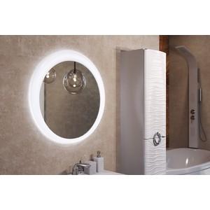 Зеркало 1Marka Aima Breeze 70 с подсветкой и подогревом, белое (4604613323394)