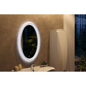 Зеркало 1Marka Aima Sunrise 62 с подсветкой и подогревом, белое (4604613323455)