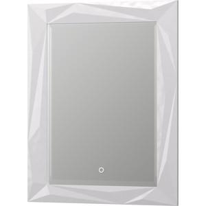 Зеркало 1Marka Aima Brilliant/Cristal 70 с подсветкой и подогревом, белое (4604613323400)