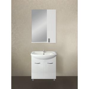 Мебель для ванной 1Marka Вита 65Н с дверками, белый глянец