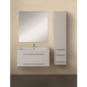 Мебель для ванной 1Marka Соната 58П с ящиками, белый глянец