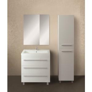 Мебель для ванной 1Marka Соната 75Н с ящиками, белый глянец
