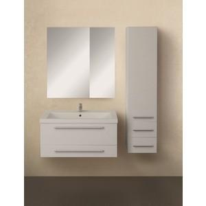 Мебель для ванной 1Marka Соната 75П с ящиками, белый глянец