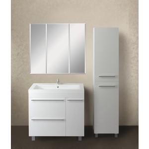 Мебель для ванной 1Marka Соната 90Н с ящиками, белый глянец