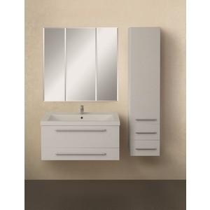 Мебель для ванной 1Marka Соната 90П с ящиками, белый глянец