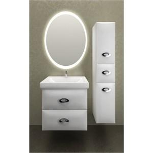 Мебель для ванной 1Marka Marka One Ovale 70П белая