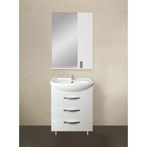 Мебель для ванной 1Marka Вита 65Н с ящиками, белый глянец