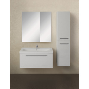 Мебель для ванной 1Marka Соната 75П с ящиком, белый глянец