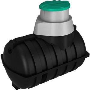 Емкость ЭкоПром подземная U 2000 с выходом черная (121.2000.899.2)