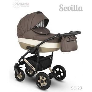 Коляска 2 в 1 Camarelo SEVILLA XSE-23 Бежевый коляска rudis solo 2 в 1 синий бежевый лен gl000338124 492552