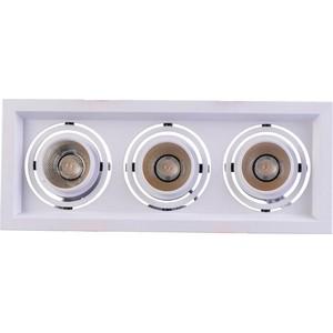 Встраиваемый светодиодный светильник DeMarkt 637016303 цена