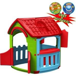 Домик игровой Marian Plast (Palplay) Кухня (голубой, зеленый, красный) со светом и музыкой 6631 все цены