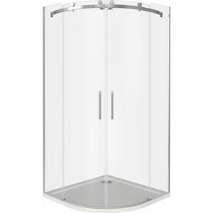 Душевой уголок Good Door Altair R-TD 100х100 прозрачный, хром (Altair R-TD-100-C-CH)