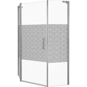 Душевой уголок Good Door Fantasy PNT 100х100 прозрачный с рисуком Фантази, хром запчасти