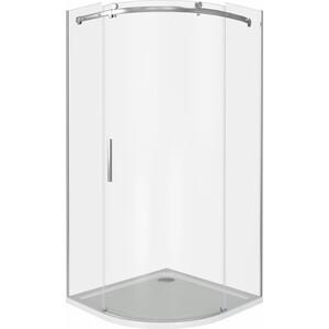 Душевой уголок Good Door Galaxy R 90х90 прозрачный, хром (Galaxy -C-CH)
