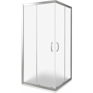 Душевой уголок Good Door Infinity CR 80х80 матовый, хром (Infinity CR-80-G-CH) фото