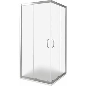 Душевой уголок Good Door Infinity CR 90х90 матовый, хром (Infinity CR 90х90 -G-CH) душевой лоток с решеткой alpen drops 45 cм хром глянцевый ch 450d