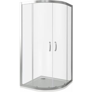 Душевой уголок Good Door Infinity R 90х90 прозрачный, хром (Infinity -C-CH)