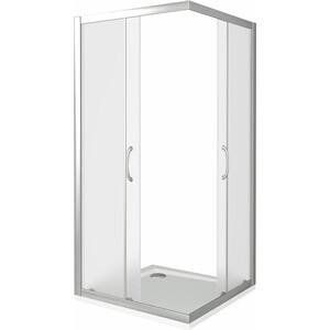 Душевой уголок Good Door Latte CR 90х90 матовый, белый (Latte -G-WE)