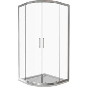 Душевой уголок Good Door Latte R 80х80 прозрачный, белый (Latte R-80-C-WE)