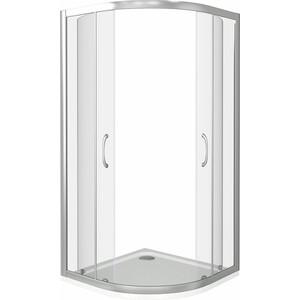 Душевой уголок Good Door Latte R 100х100 прозрачный, белый (Latte R-100-C-WE)