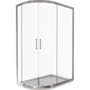 Душевой уголок Good Door Latte R 120х80 прозрачный, белый (Latte R-120-C-WE)