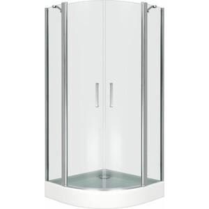 Душевой уголок Good Door Pandora R 100х100 прозрачный, хром (Pandora R-100-C-CH)