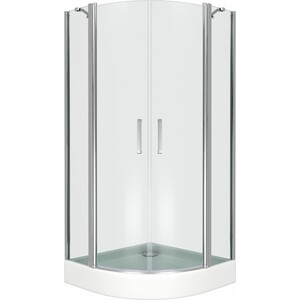 Душевой уголок Good Door Pandora R 100х100 прозрачный, хром (Pandora R-100-C-CH) xr7 820 066 r hs235s 4sf01 good working tested