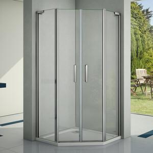Душевой уголок Good Door Pandora PNT-TD 100х100 прозрачный, хром (Pandora PNT-TD-100-C-CH)