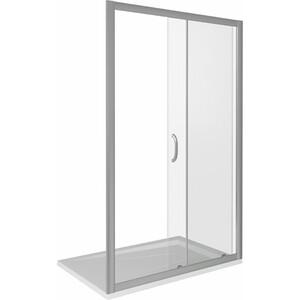 Душевая дверь Good Door Infinity 110 прозрачная, хром (Infinity WTW-110-C-CH)