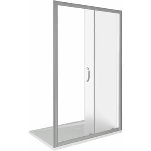 Душевая дверь Good Door Infinity 110 матовая Грейп, хром (Infinity WTW-110-G-CH)