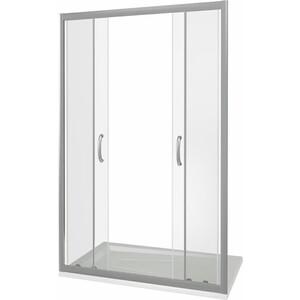 Душевая дверь Good Door Infinity 150 прозрачная, хром (Infinity WTW-TD-150-C-CH)