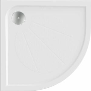 Душевой поддон Good Door Эклипс, 80x80 см, полукруглый (ЛП00012)