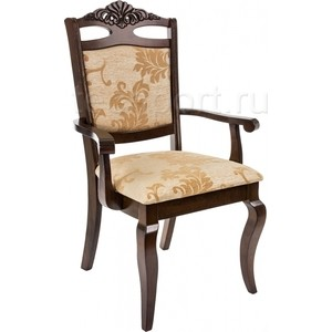 Кресло Woodville Demer cappuccino A2 деревянное