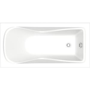 Акриловая ванна BAS Галант 160x70 см без гидромассажа (ЗВ00068) акриловая ванна ravak vanda ii 160x70 без гидромассажа cp11000000