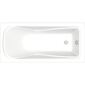 Фото - Акриловая ванна BAS Олимп 170x70 см без гидромассажа (ЗВ00067) акриловая ванна riho miami 170x70 без гидромассажа bb6200500000000