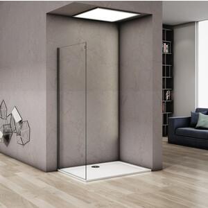 все цены на Боковая стенка для душевой двери Good Door Altair 90 прозрачная, хром (Altair SP-90-C-CH) онлайн