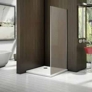 Боковая стенка для душевой двери Good Door Latte 90 матовая Грейп, белый (Latte SP-90-G-WE)