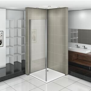 Боковая стенка для душевой двери Good Door Infinity 90 прозрачная, хром (Infinity SP-90-C-CH)