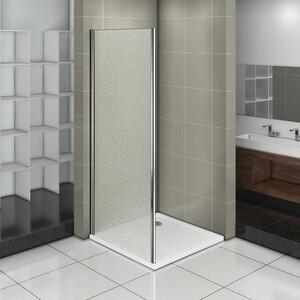 Боковая стенка для душевой двери Good Door Infinity 90 матовая Грейп, хром (Infinity SP-90-G-CH)