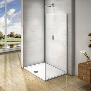 лучшая цена Боковая стенка для душевой двери Good Door Orion 80 прозрачная, хром (Orion SP-80-C-CH)