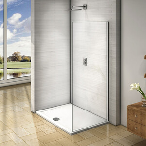 лучшая цена Боковая стенка для душевой двери Good Door Orion 90 прозрачная, хром (Orion SP-90-C-CH)
