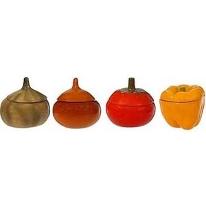 Набор из 4-х горшков для запекания Борисовская керамика Веселая Семейка (к) (ОБЧ00000482)
