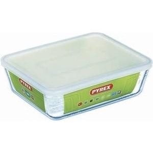 Блюдо с крышкой 2.6 л 25x19 см Pyrex Cook&Store (243P000)